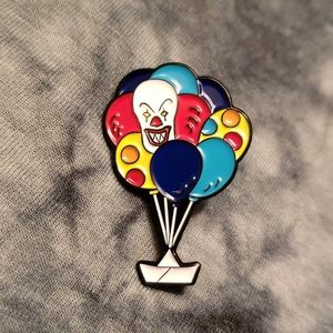 It Pennywise Evil Killer Clown Stephen King Pin